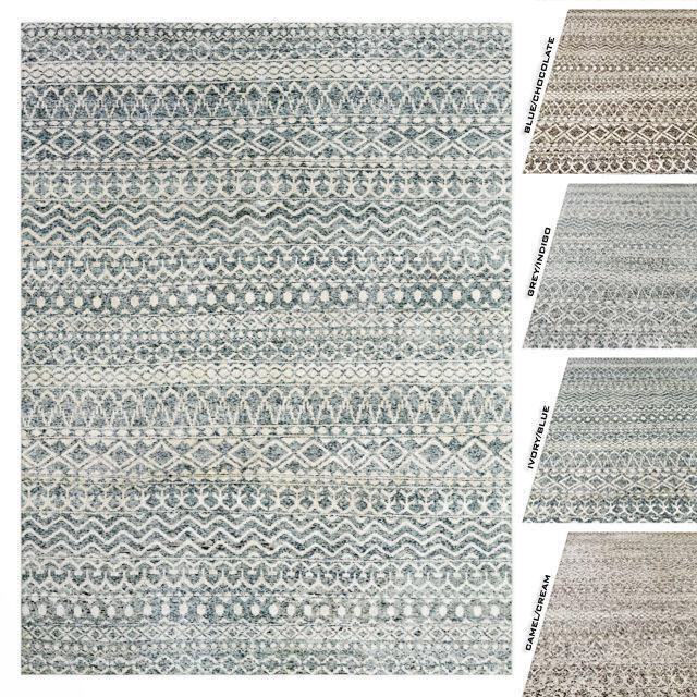 3D Zahira Moroccan Rug RH carpet | CGTrad