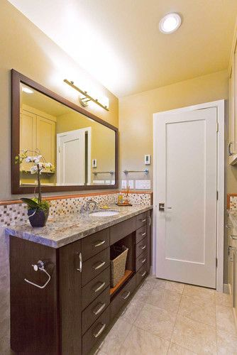 Narrow Depth Vanity Design, Pictures, Remodel, Decor and Ideas .