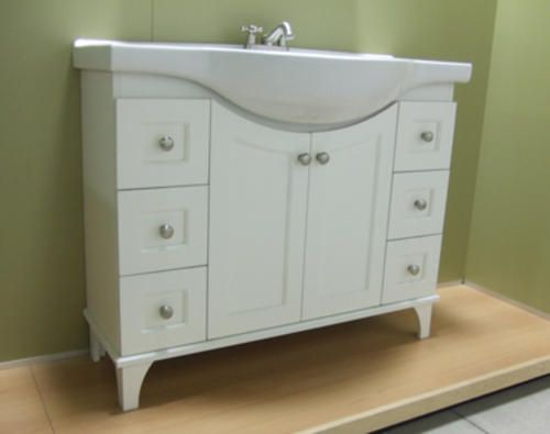 "41"" Fairmont Collection Euro Vanity Base - a narrow vanity/sink ."