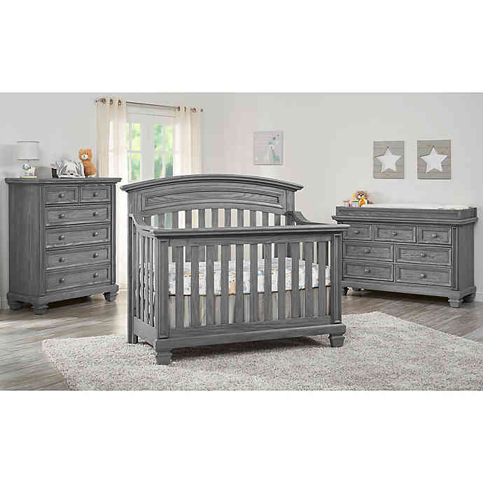 Oxford Richmond Nursery Furniture Collection in Brushed Grey .
