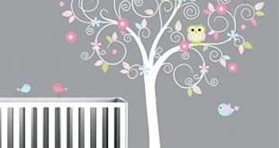 Amazon.com: Tree Wall Decal-Nursery Wall Decals-Nursery Wall Art .