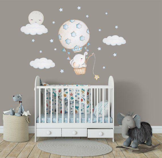 12 Unique Bonus Room Ideas for Your Home | Elephant nursery wall .