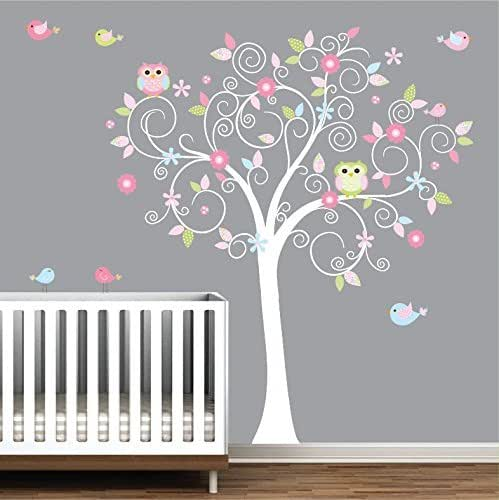 Amazon.com: Tree Wall Decal-Nursery Wall Decals-Nursery Wall Art .