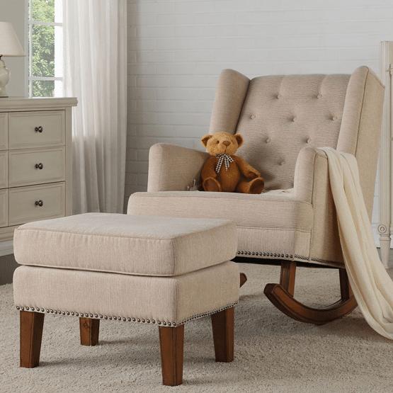 Celeste Nursing Chair & Ottoman