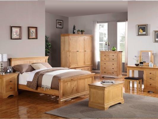 Oak bedroom furniture | Oak bedroom furniture sets, Cheap bedroom .