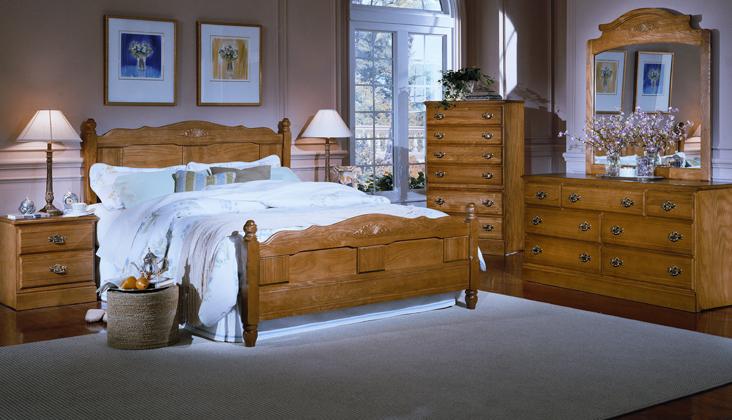 Carolina Furniture Oak 2300 Bedroom Collecti
