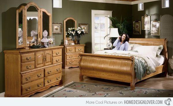15 Oak Bedroom Furniture Sets | Oak bedroom furniture, Oak bedroom .