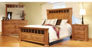 Rustic Oak Bedroom Set, Oak Bedroom Set, Oak Bedroom Furnitu