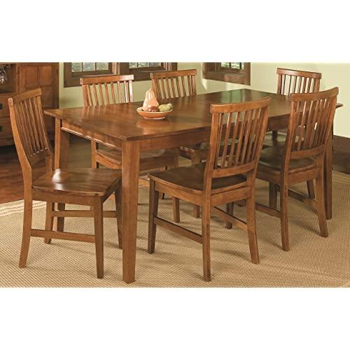 Oak Dining Room Set: Amazon.c