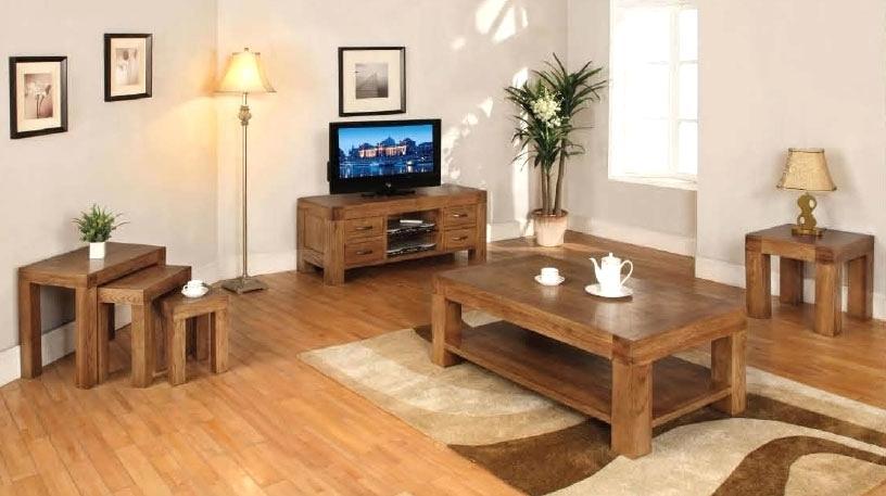 Oak Living Room Furniture wooden living room furniture - Home .