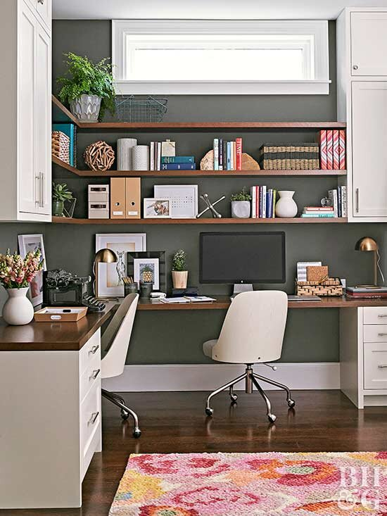 Our Best Home Office Decorating Ideas | Better Homes & Garde
