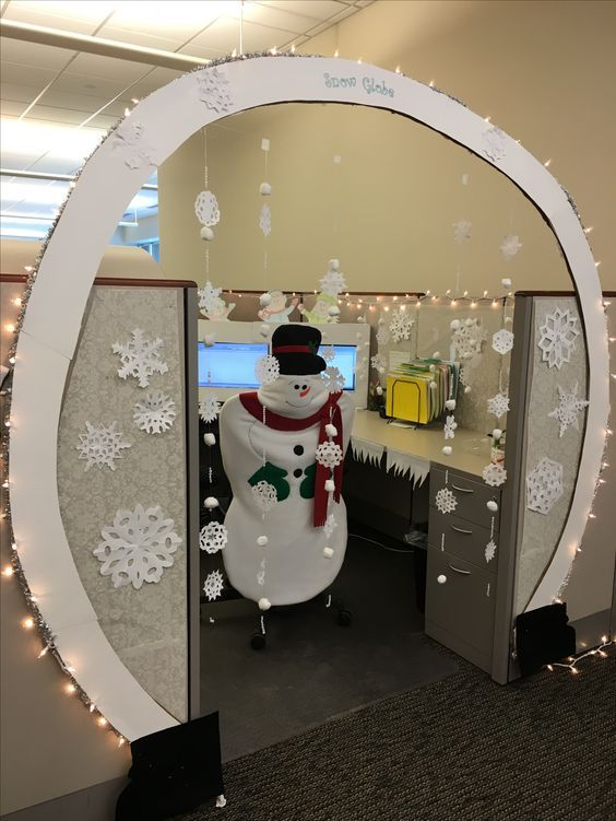 The Top 20 Best Office Cubicle Christmas Decorating Ideas | Office .