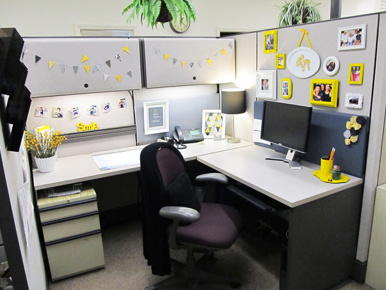 20 Cubicle Decor Ideas to Make Your Office Style Work as Hard as .
