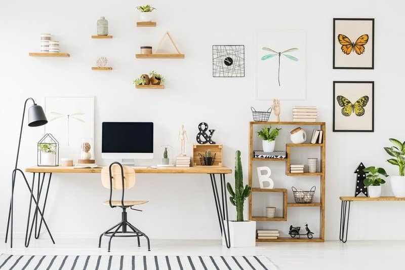 20 Spectacular Home Office Decorating Ideas on a Budget - Healthy .