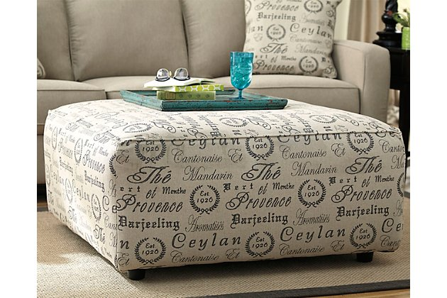 Alenya Ottoman | Ashley Furniture HomeSto