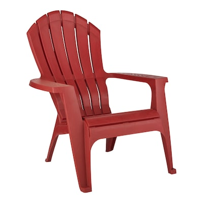 Adams Mfg Corp Stackable Plastic Stationary Adirondack Chair(s .