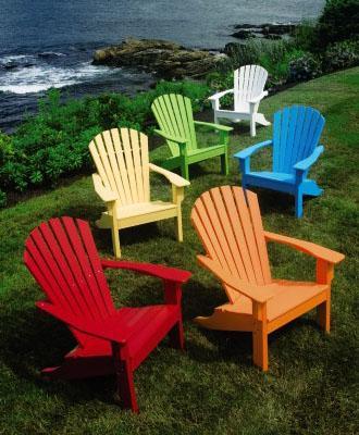 Seaside Adirondack Chair from Walpole Outdoo