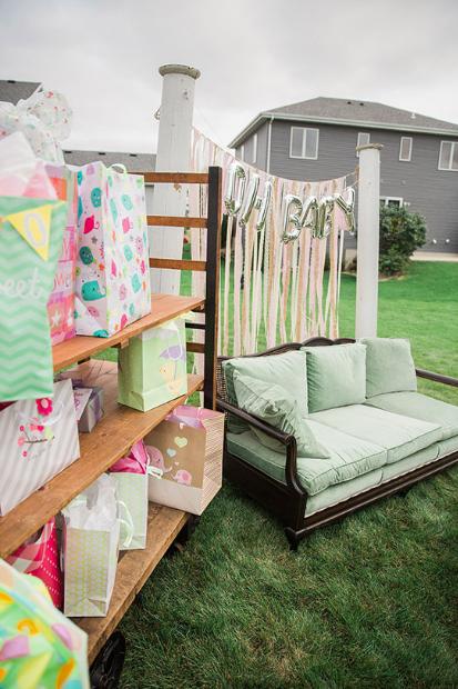 Summer Inspired Outdoor Baby Shower Decoration Ideas | Baby shower .