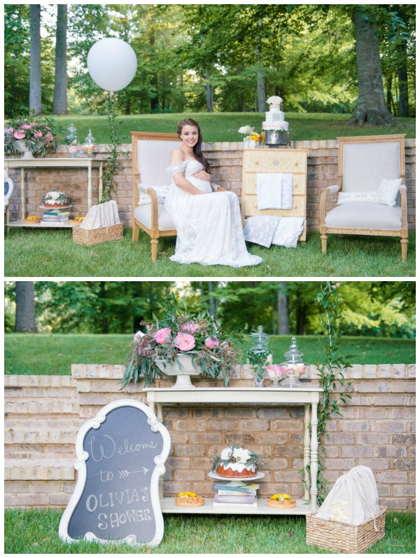 Whimsical Outdoor Baby Shower - Pretty My Party - Party Ide