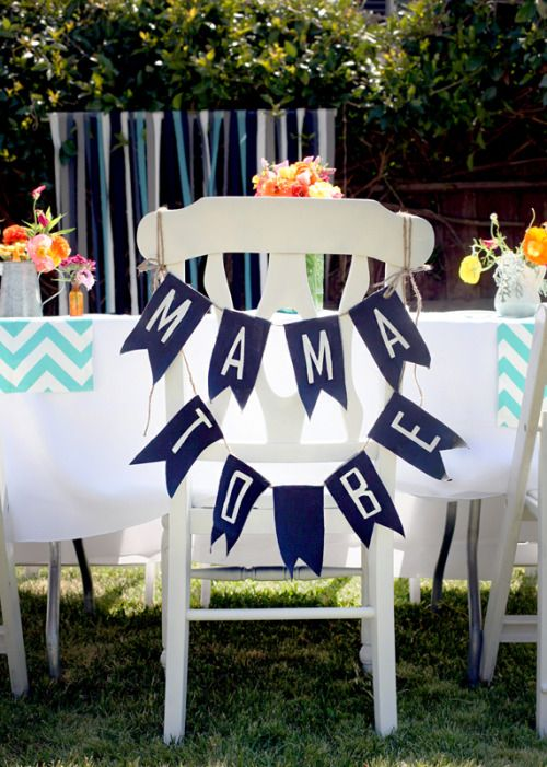 Summer Inspired Outdoor Baby Shower Decoration Ideas | Baby boy .