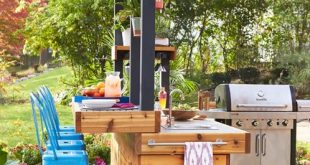 Outdoor Bar and Grill - Contemporary - Patio - Other - by DeGoey .
