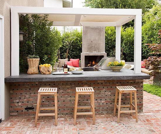 Outdoor Bar | Better Homes & Garde