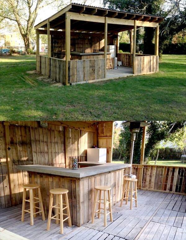 Outdoor Bar Ideas for Exterior House — Modern Desi