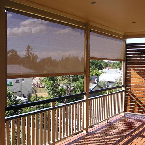 Why people are choosing to install outdoor shade blinds .