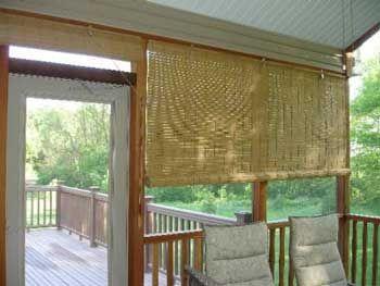 Porch Blinds | Porch shades, Patio shade, Outdoor sha