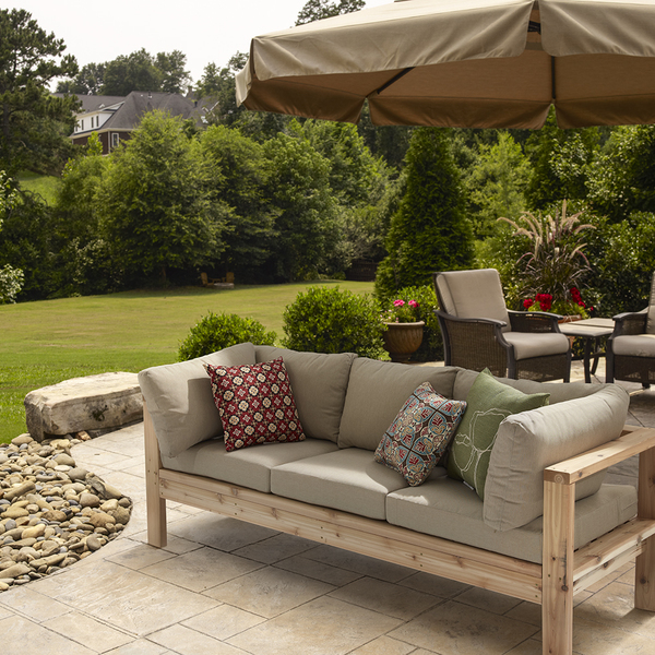 Outdoor Couch - RYOBI Nation Projec