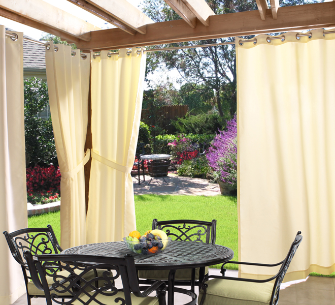 Outdoor Decor Gazebo Outdoor Curtains, by Commonwealth Home .