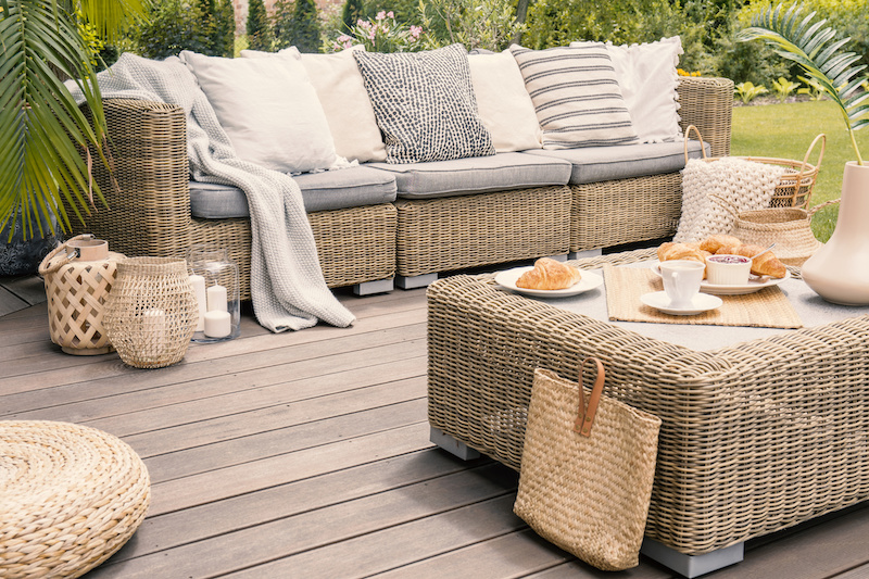 How to Care for Outdoor Furniture Cushions | Bean Bags R