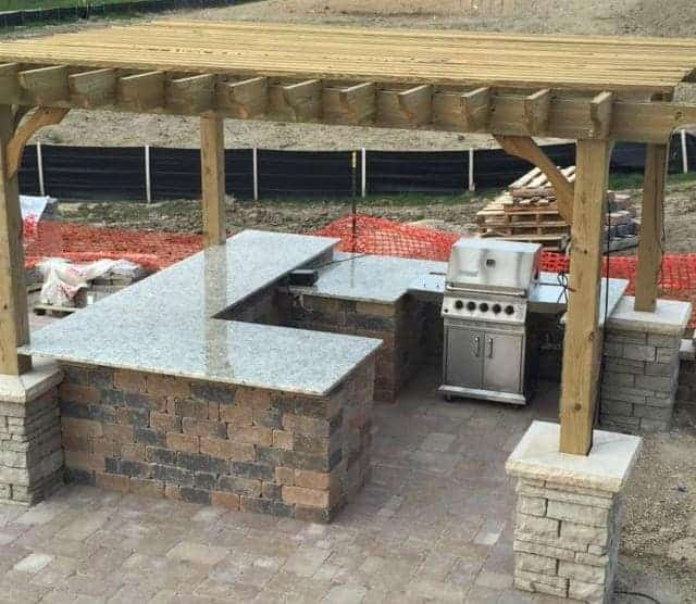Outdoor Kitchen Features for Outdoor Entertaining | Pergola Kits .