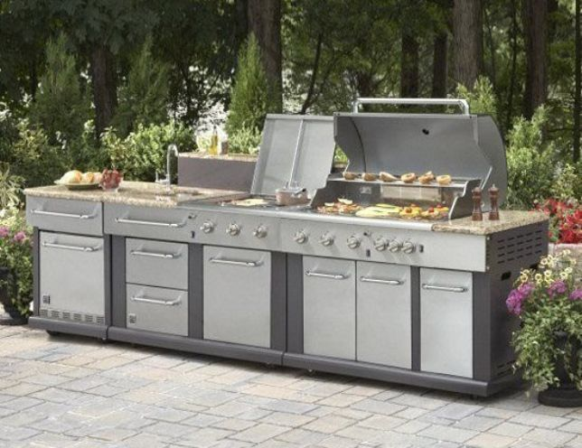 outdoor kitchen kits low