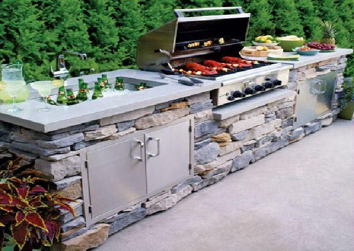 Kitchens: Fabulous And Exciting Diy Outdoor Kitchen Kits With The .