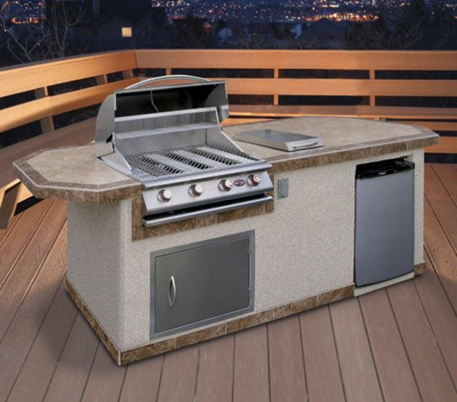Prefab Outdoor Kitchen Kits - Landscaping Netwo