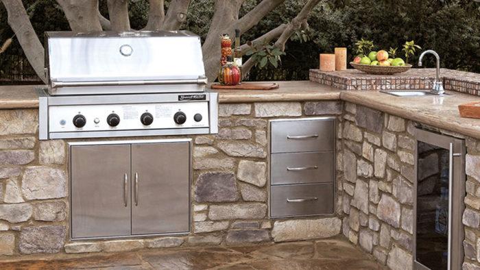 Outdoor-Kitchen Modular Kits - Fine Homebuildi