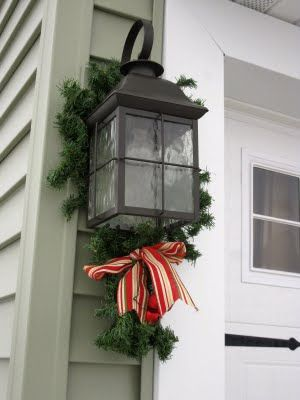 Christmas Decor: Exterior | Exterior christmas decorations .