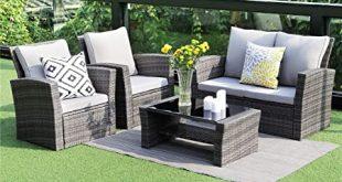Amazon.com: Wisteria Lane 5 Piece Outdoor Patio Furniture Sets .
