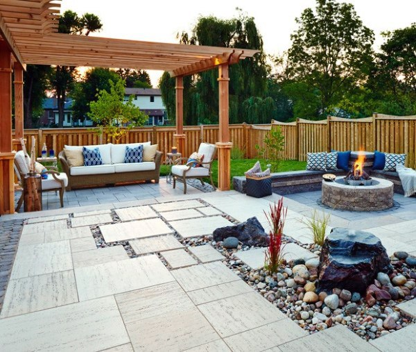Top 60 Best Outdoor Patio Ideas - Backyard Lounge Desig