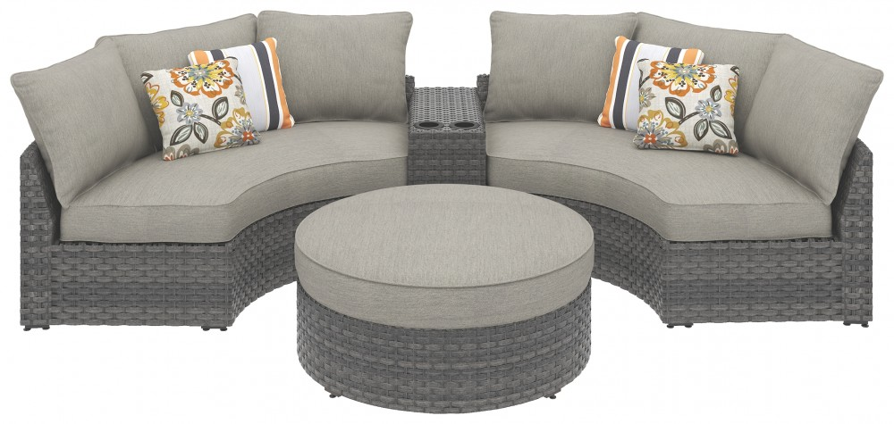 Spring Dew - Spring Dew 4-Piece Outdoor Seating Set | P453P7-814 .