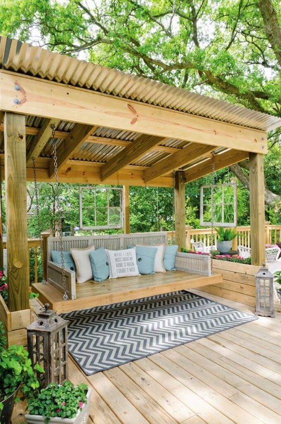 25 Easy And Cheap Backyard Seating Ideas | Backyard, Backyard .