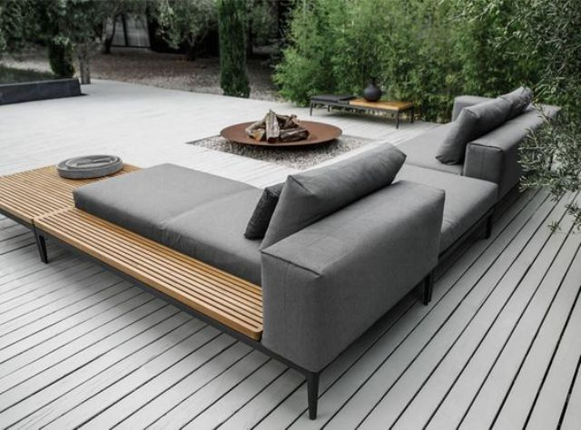 18 Comfy And Stylish Outdoor Seating Ideas - Shelterne