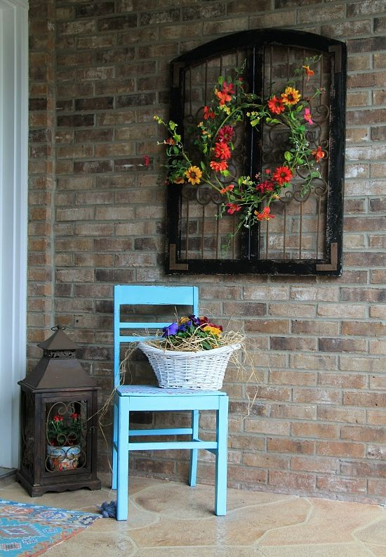 How To Beautify Your House – Outdoor Wall Décor Ide