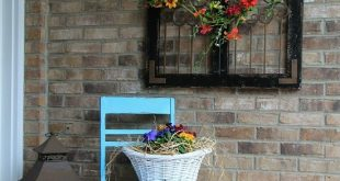How To Beautify Your House – Outdoor Wall Décor Ideas | Patio wall .