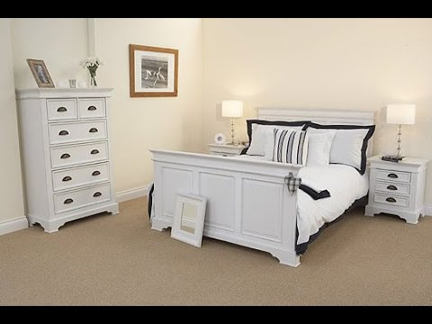white painted bedroom furniture - YouTu