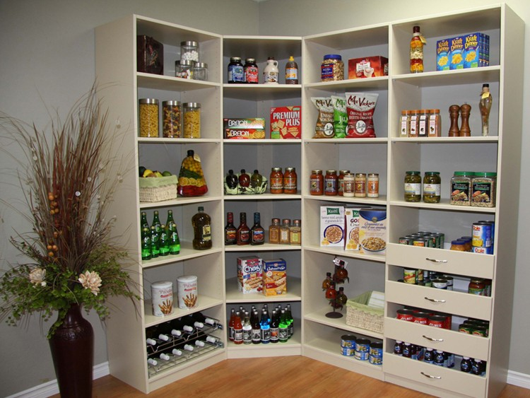 Pantry Organizers | Project Gallery | Sherwood Shelvi