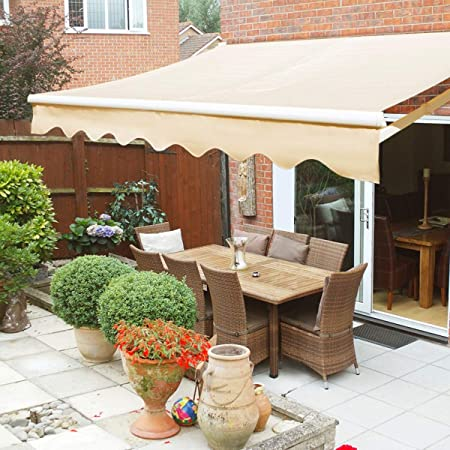 Amazon.com : XtremepowerUS Retractable Patio Sun Shade Awning .