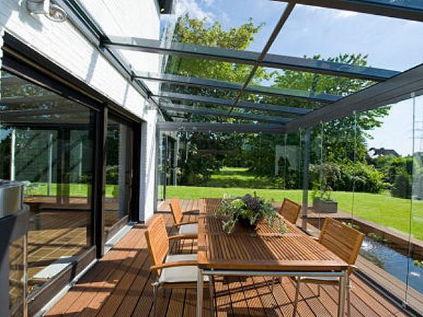 How to Construct A Glass Canopy for Patios | glassonweb.c