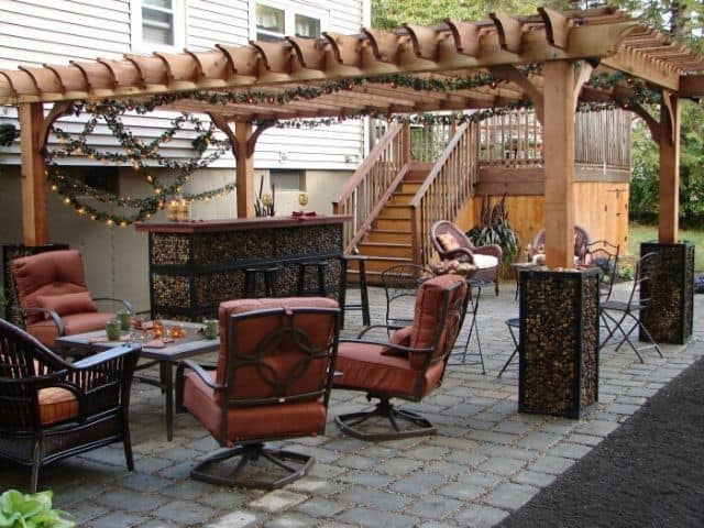 Outdoor Patio Decor for the Holidays - Tips for the Best Patio .